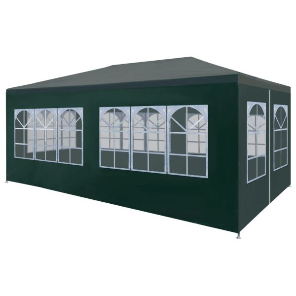 Party Tent 3×6 m Green 1
