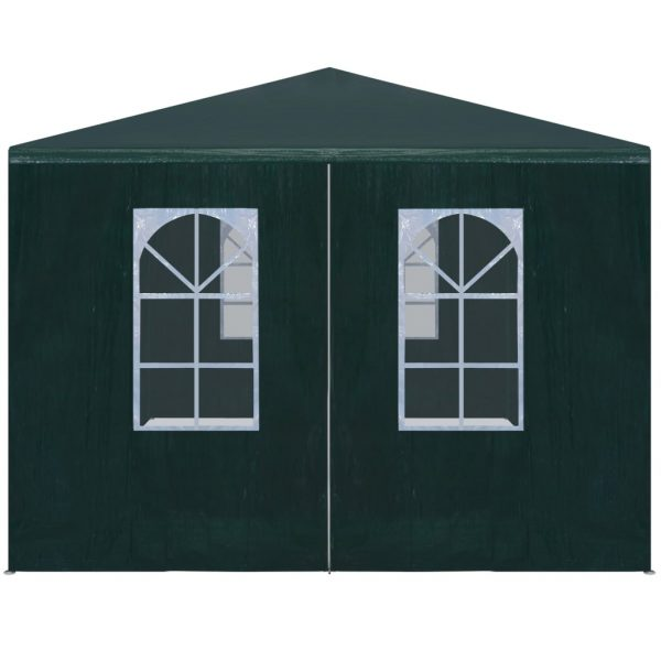 Party Tent 3×6 m Green 2