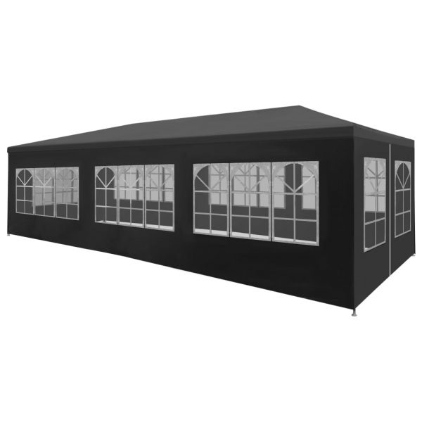 Party Tent 3×9 m Anthracite 1