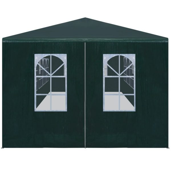 Party Tent 3×9 m Green 2