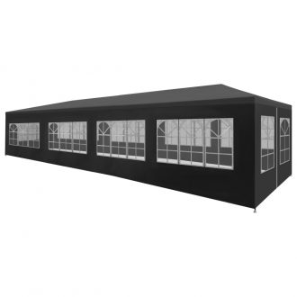Party Tent 3×12 m Anthracite 1