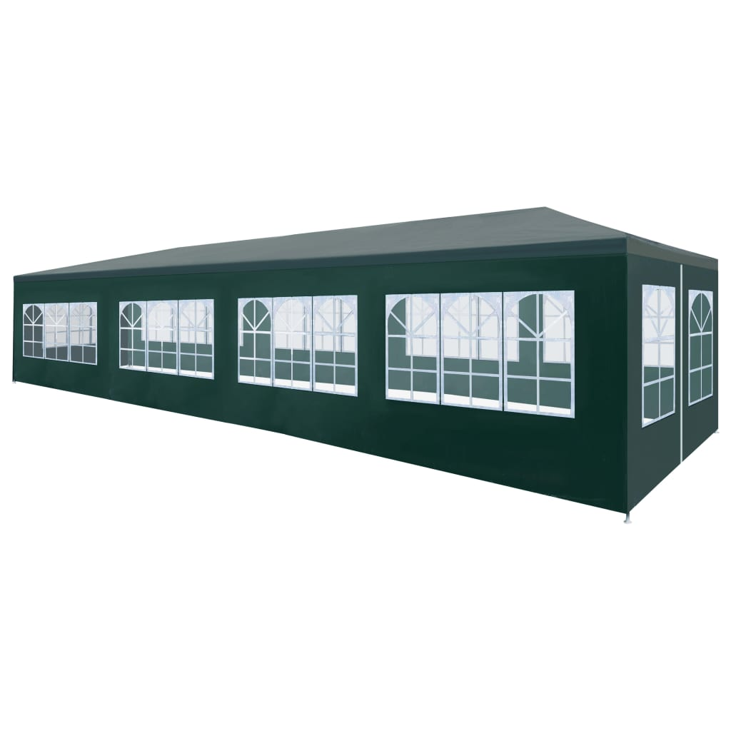 Party Tent 3×12 m Green 1