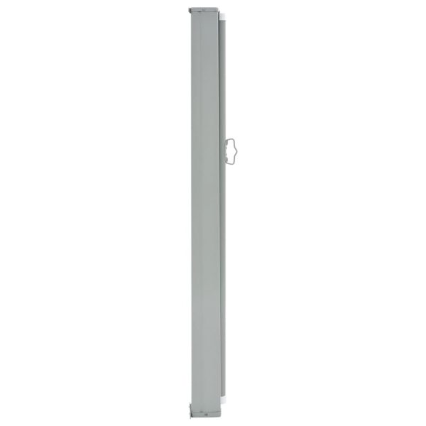 Patio Retractable Side Awning 120 x 300 cm Cream 3