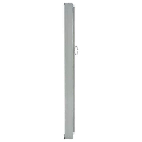 Patio Retractable Side Awning 160 x 300 cm Grey 3