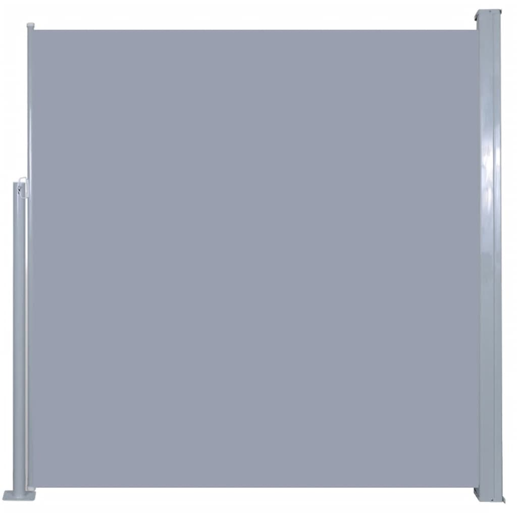 Retractable Side Awning 140 x 300 cm Grey 2