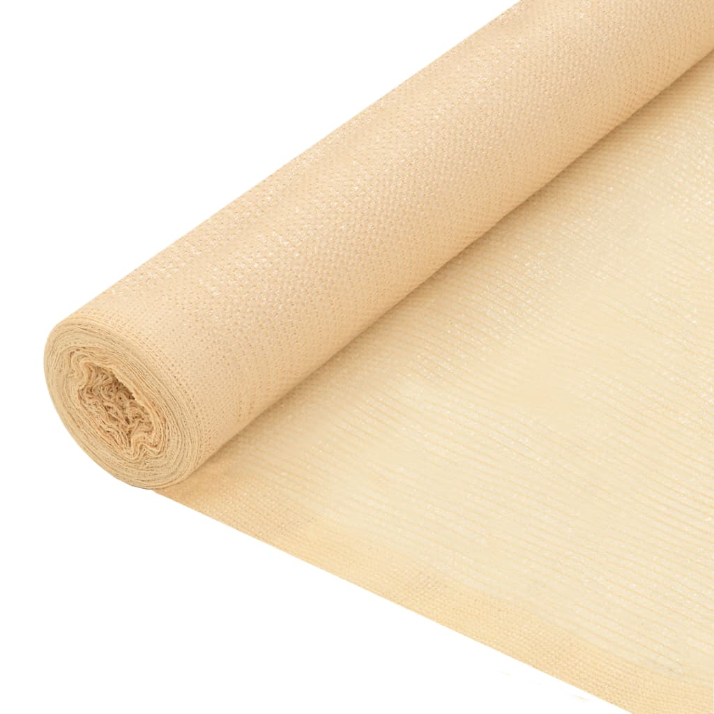Privacy Net HDPE 1×10 m Beige 1