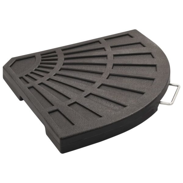Umbrella Weight Plate Black Fan-shaped 20 kg 2