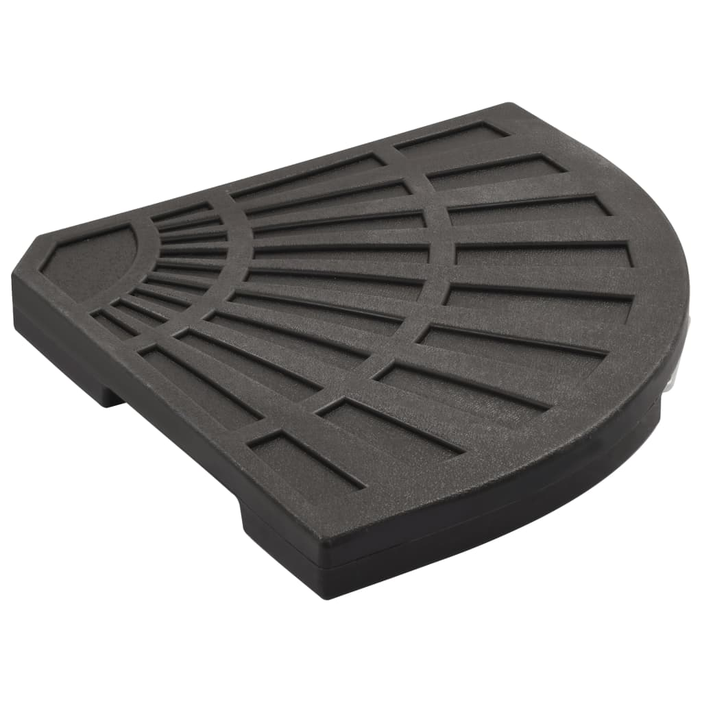 Umbrella Weight Plate Black Fan-shaped 20 kg 3