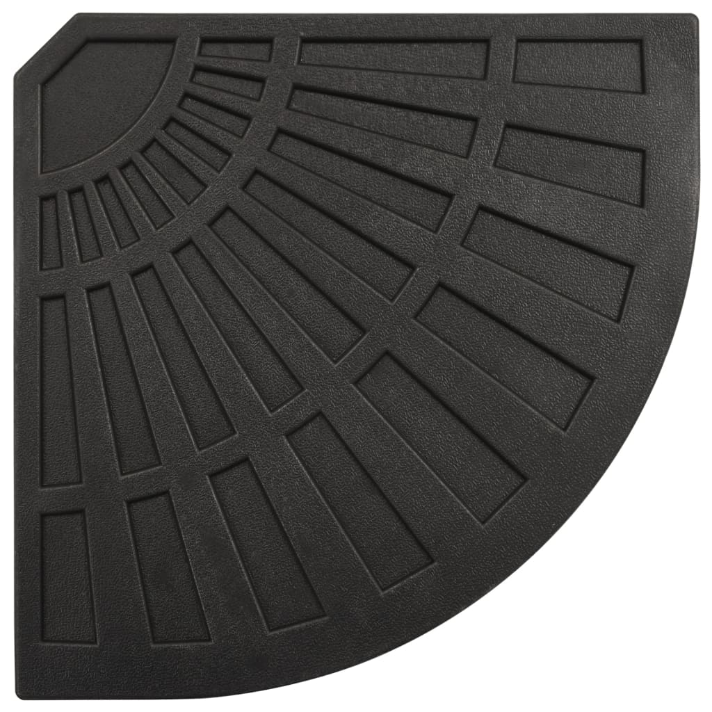 Umbrella Weight Plate Black Fan-shaped 20 kg 4