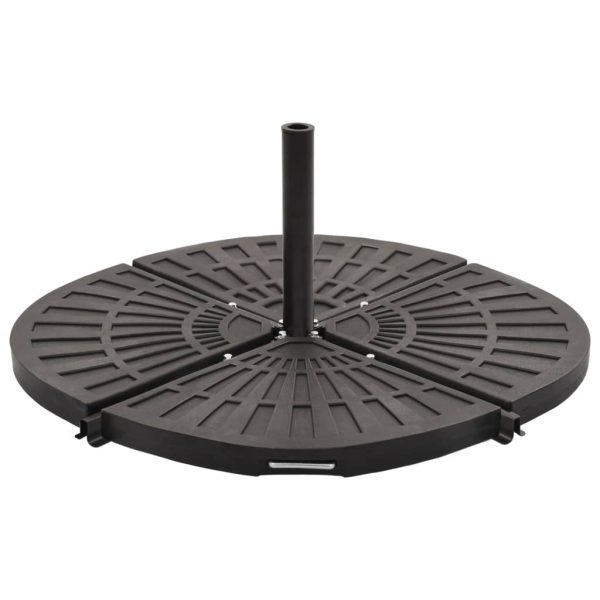 Umbrella Weight Plate Black Fan-shaped 20 kg 1