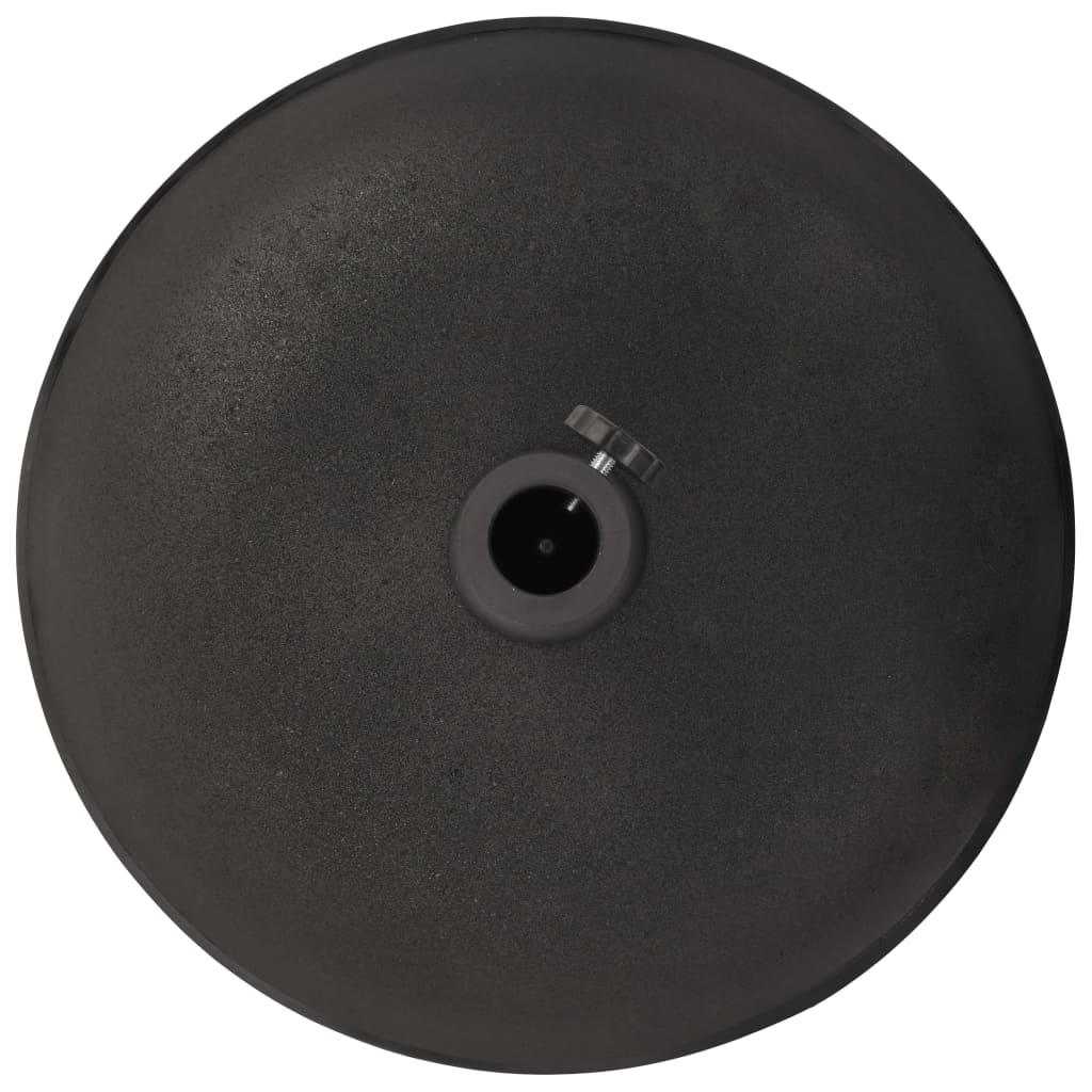 Parasol Base Black Concrete Round 25 kg 3