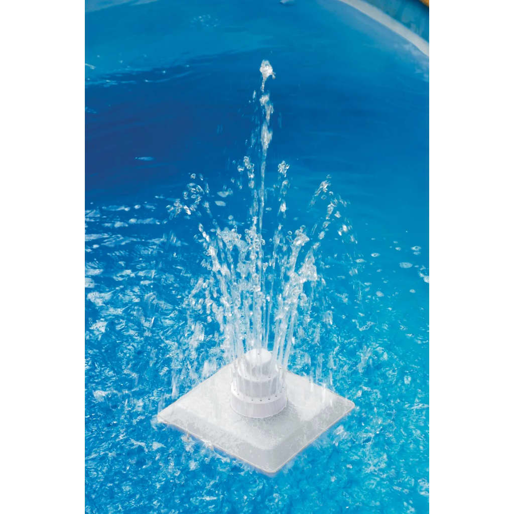 vidaXL 13 Piece Pool Grecian Fountain White 1