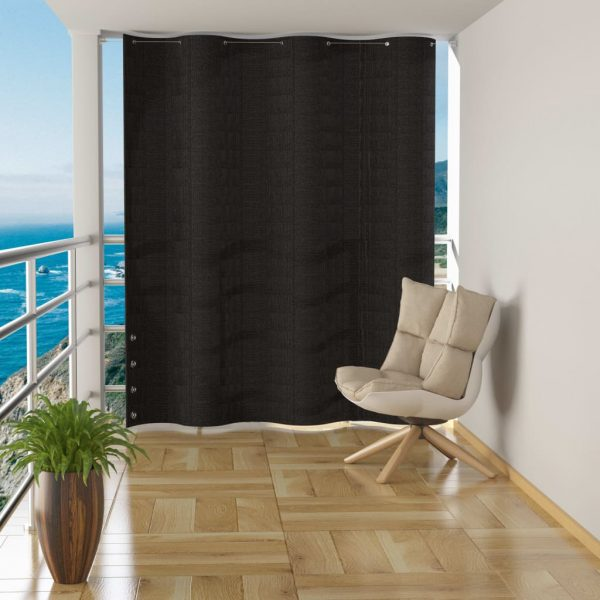 Hanging Balcony Screen Anthracite HDPE 140×230 cm 1
