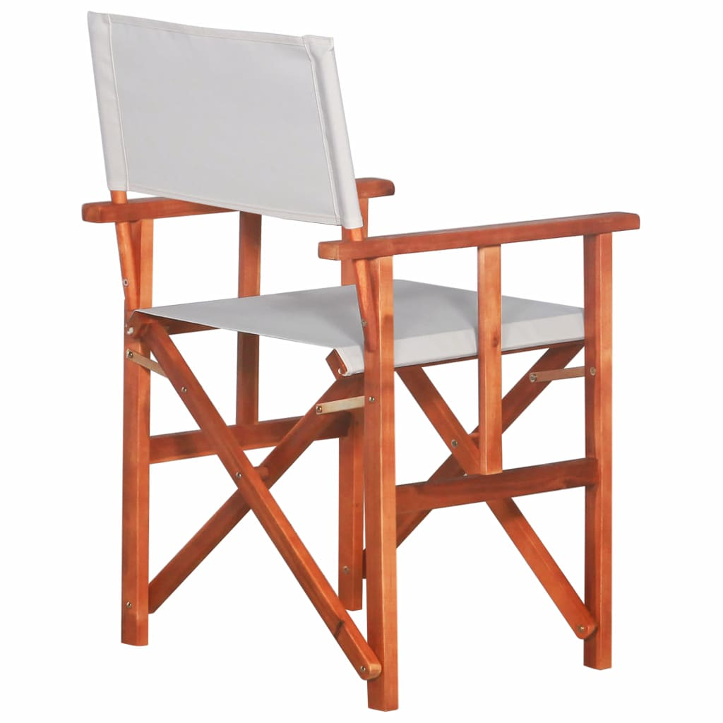 Director's Chair Solid Acacia Wood 3