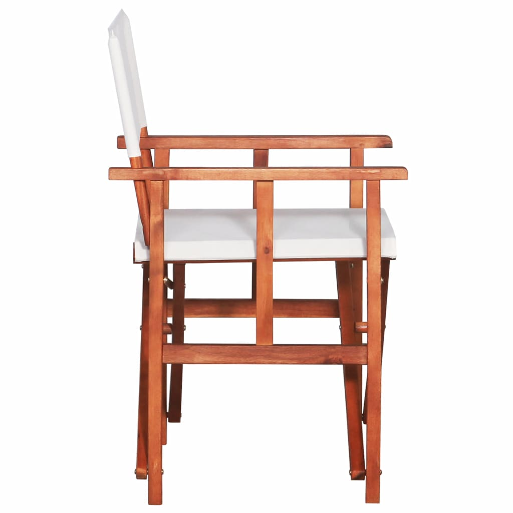 Director's Chair Solid Acacia Wood 4