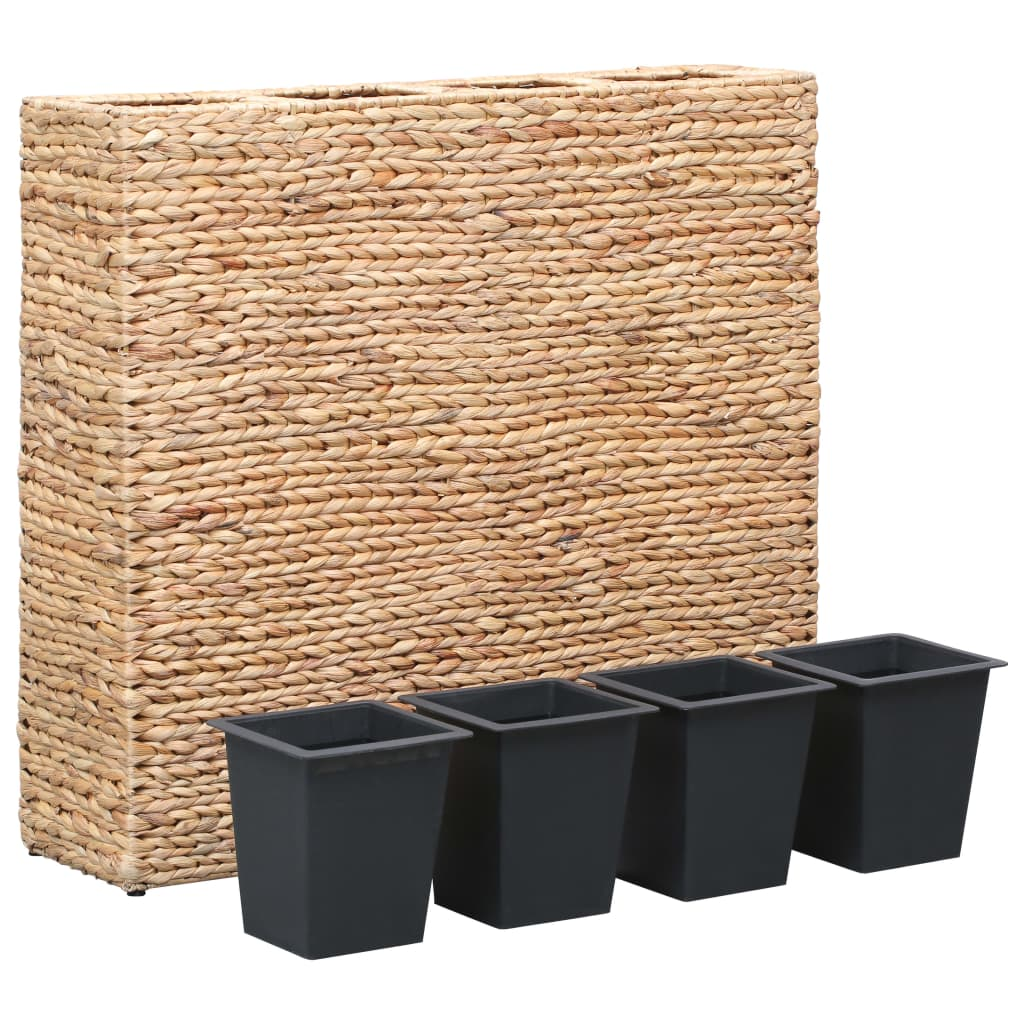 Garden Planter with 4 Pots Water Hyacinth 2