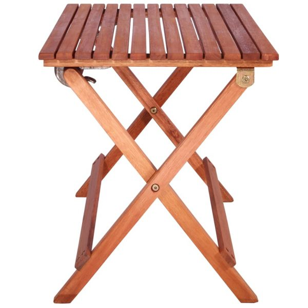 3 Piece Bistro Set for Children Solid Eucalyptus Wood 6