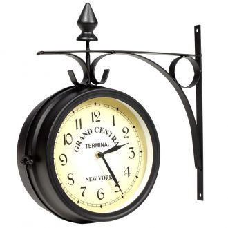 Two-sided Wall Clock 20 cm 1