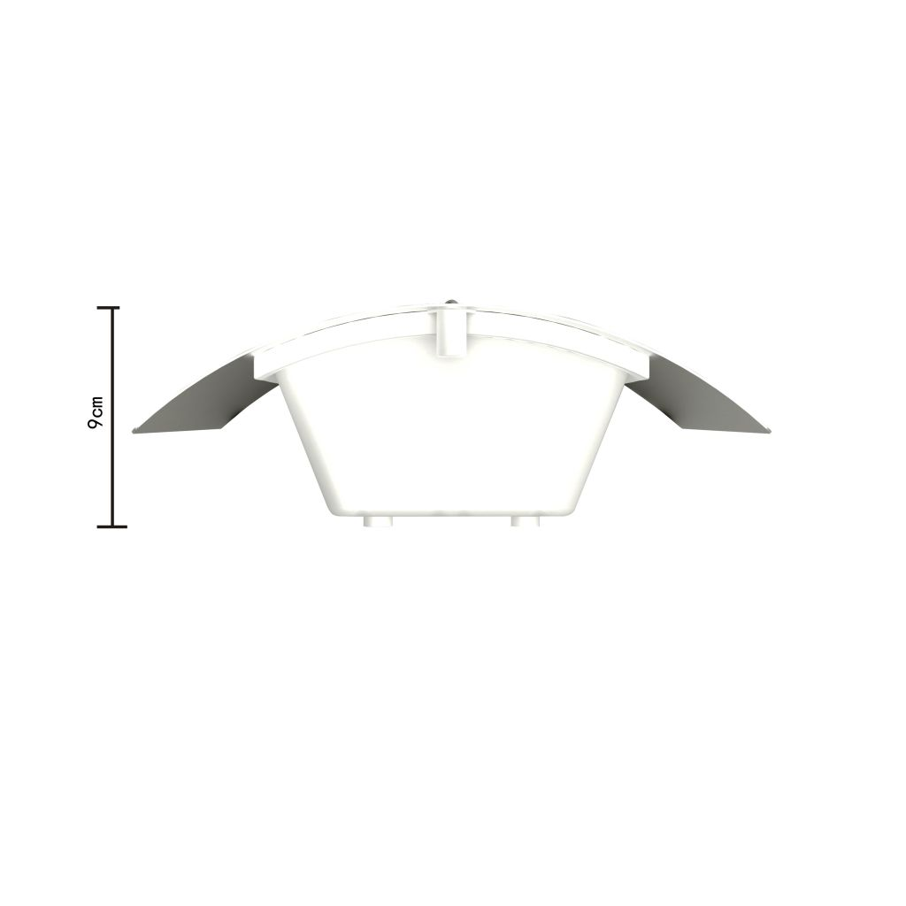RVS Walllamp for Indoor and Outdoors Waterproof 5