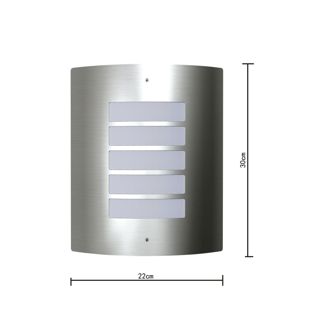 RVS Walllamp for Indoor and Outdoors Waterproof 6