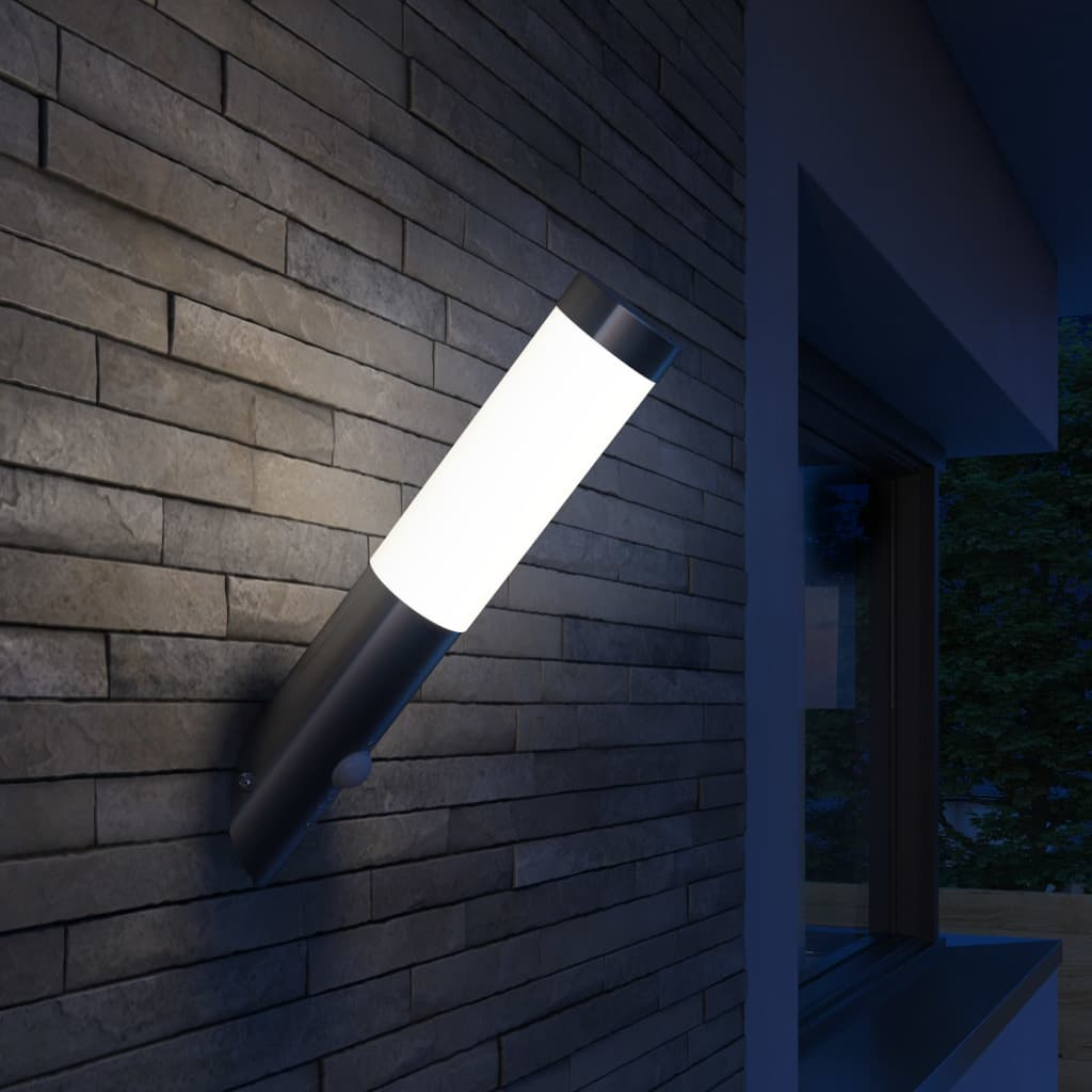 RVS Gardenlamp Wall Lamp Waterproof with Motion Detector 3