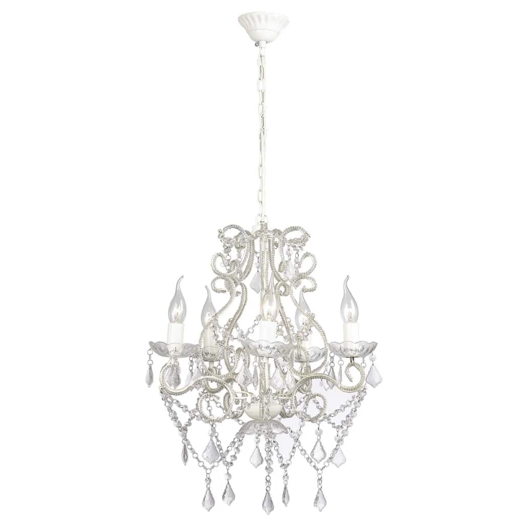 Chandelier with 2800 Crystals E14 1