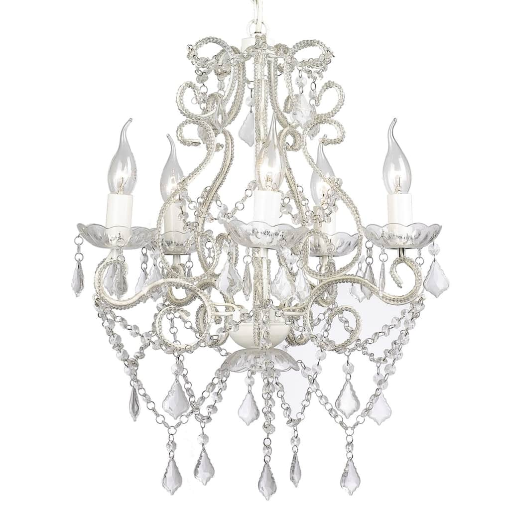 Chandelier with 2800 Crystals E14 5