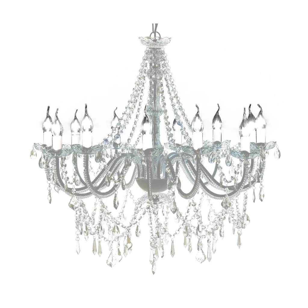 Chandelier with 1600 Crystals 1