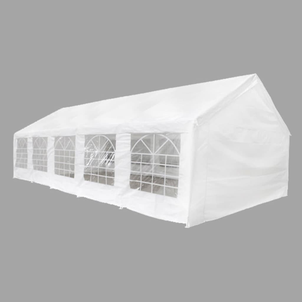 Party Tent 10 x 5 m White 2