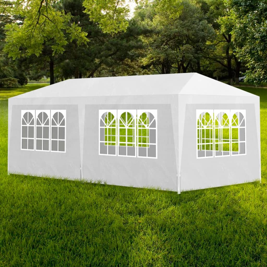 Party Tent 3×6 m White 1