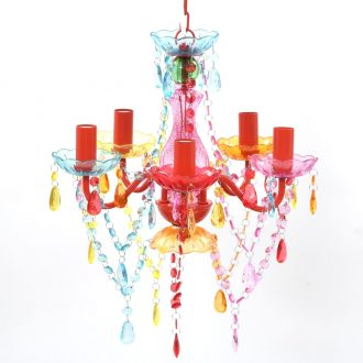 MULTI COLOUR crystal light 5 bulb 1