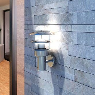 Patio Wall Light Lamp Stainless Steel 1