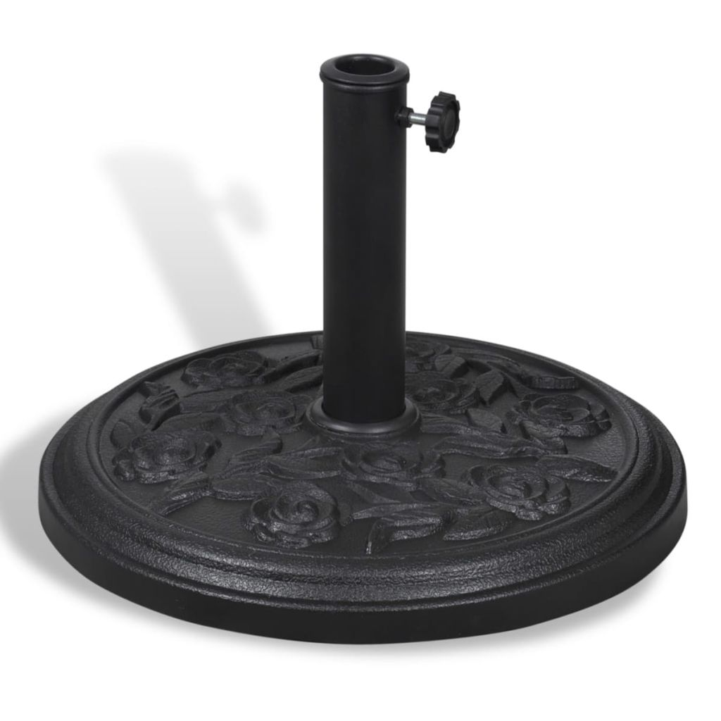 Resin Round Parasol Base 1
