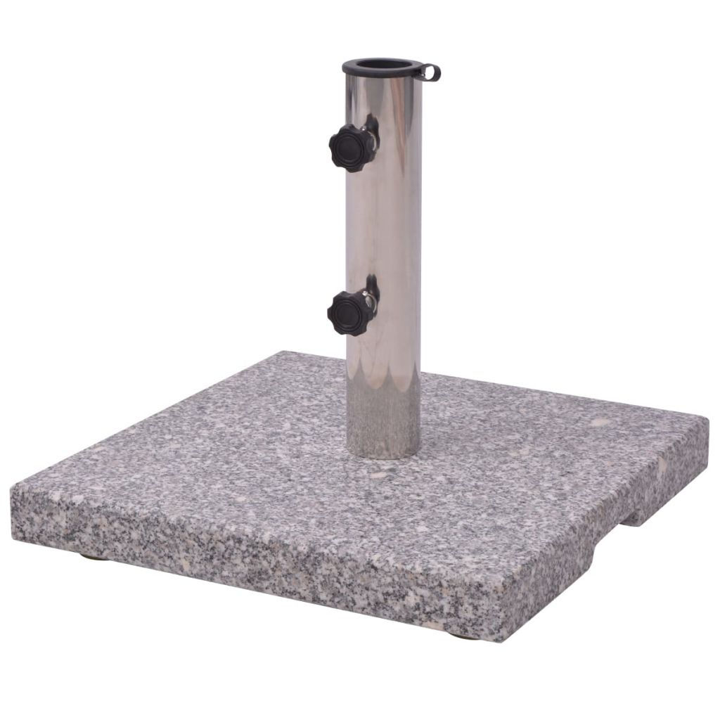 Granite Parasol Base Umbrella Holder 20kg 1