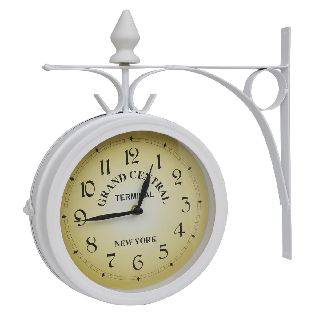 Wall Clock Two-Sided Classic Design 1