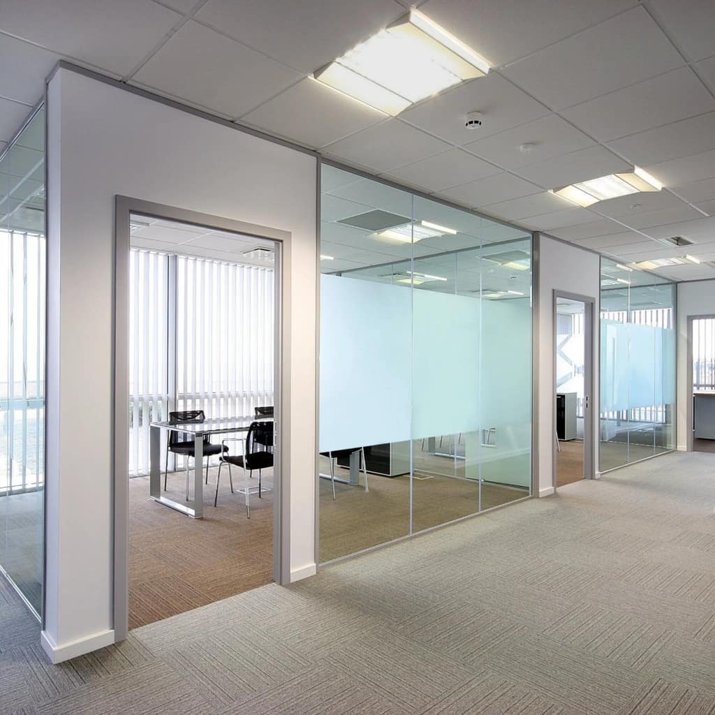 Pure Frosted Privacy Window Film Milk Glass Adhesive 0