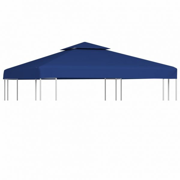 Water-proof Gazebo Cover Canopy 310 g / m² Dark Blue 3 x 3 m 1