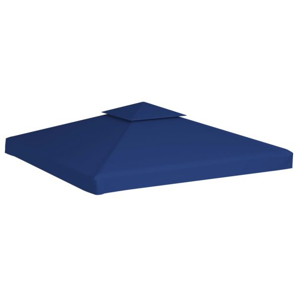 Water-proof Gazebo Cover Canopy 310 g / m² Dark Blue 3 x 3 m 4