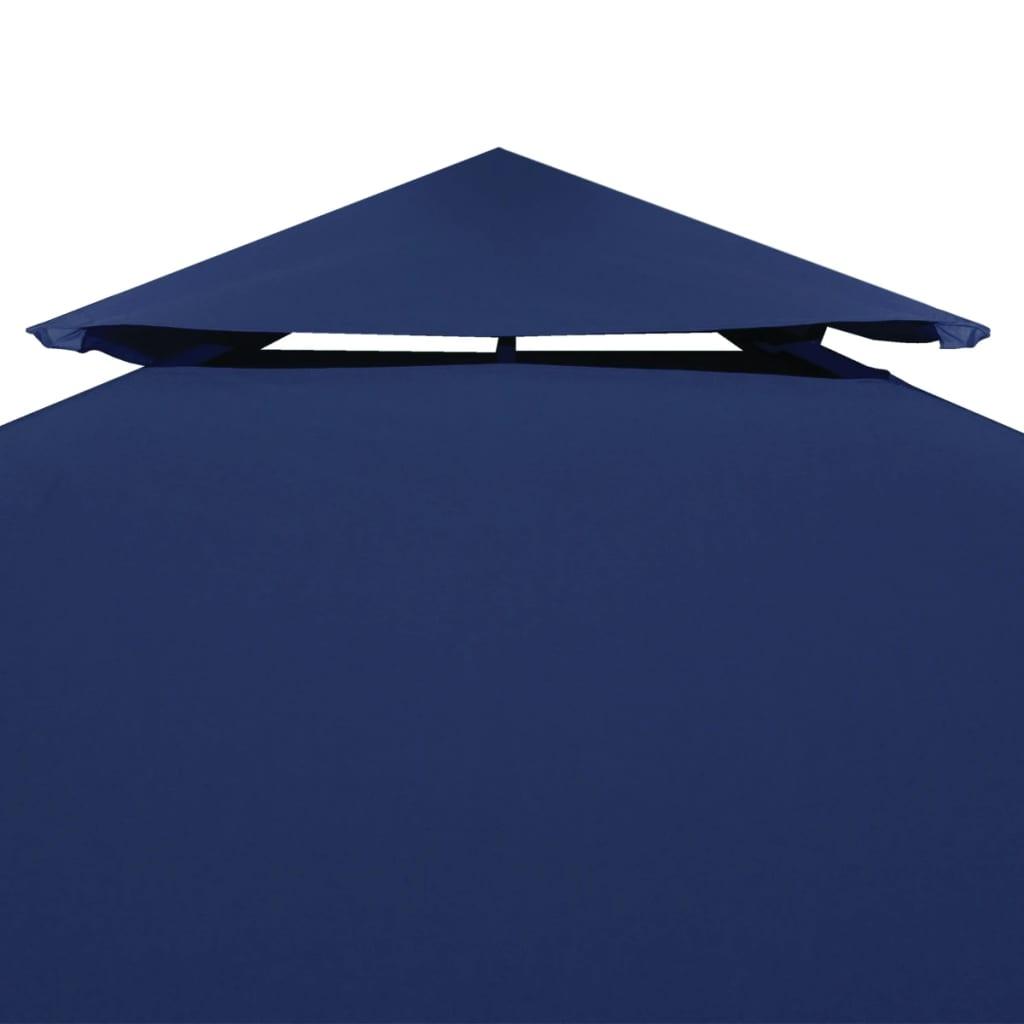 Water-proof Gazebo Cover Canopy 310 g / m² Dark Blue 3 x 3 m 5