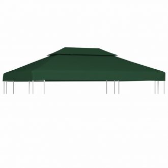 Water-proof Gazebo Cover Canopy 310 g / m² Green 3 x 4 m 1