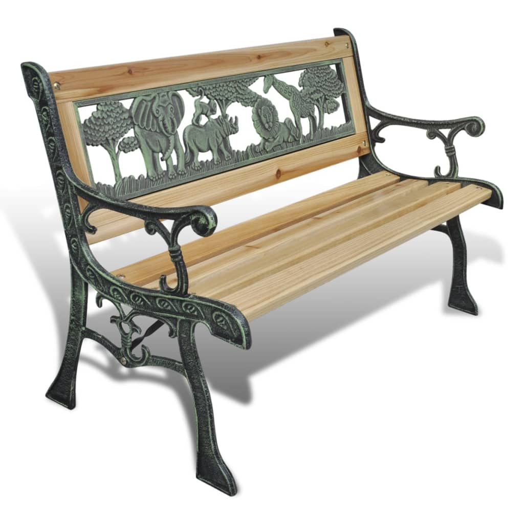 Children Garden Bench 80 cm Wood