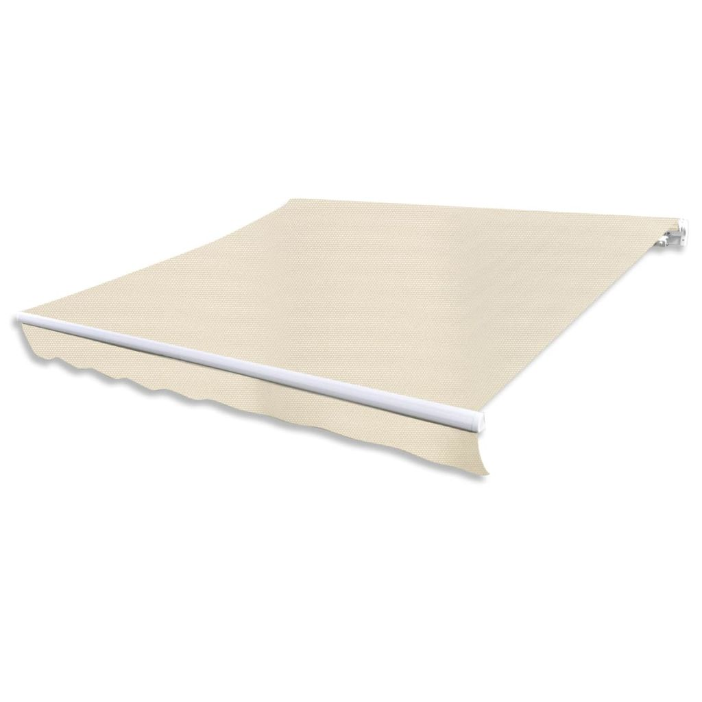 Awning Top Sunshade Canvas Cream 3×2