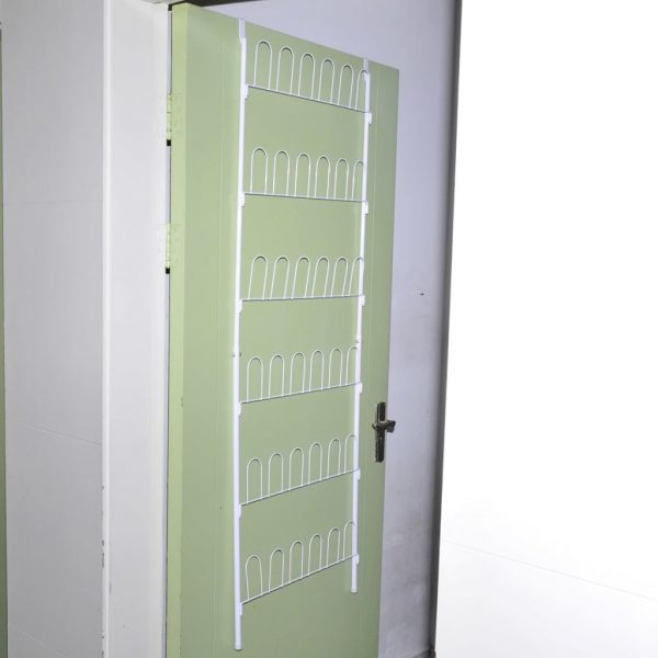 Shoe Rack for 18 Pairs of Shoes Steel White 3