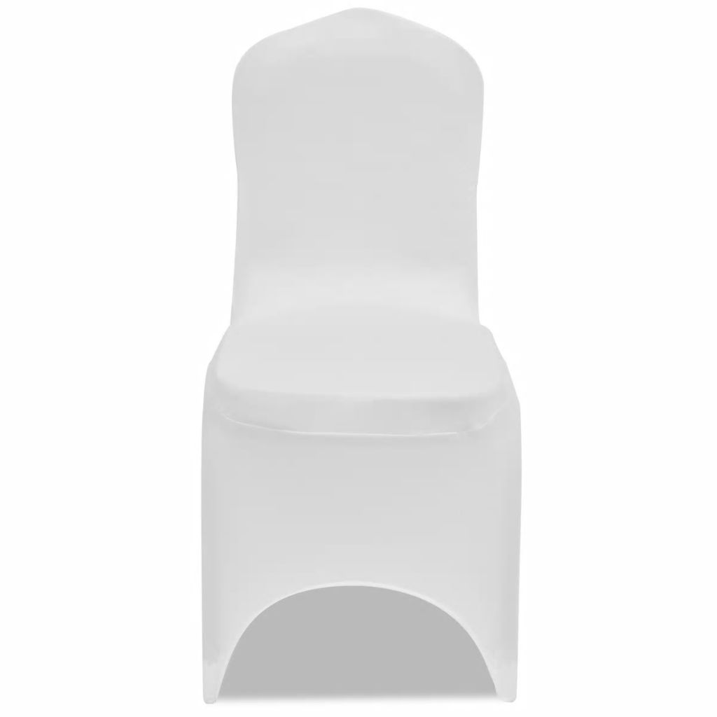 Chair Cover Stretch White 50 pcs 2