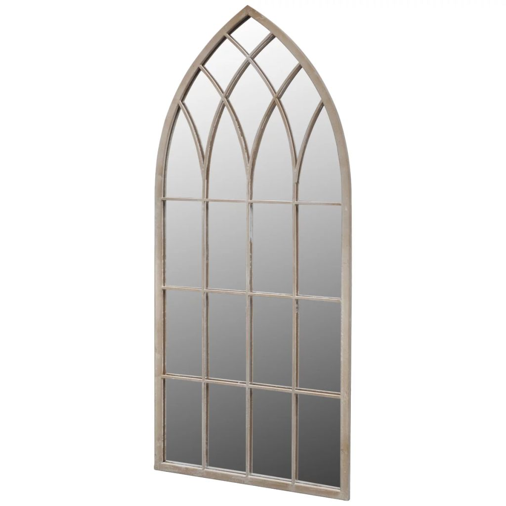 Gothic Arch Garden Mirror 115 x 50 cm for Both Indoor and Outdoor Use 1