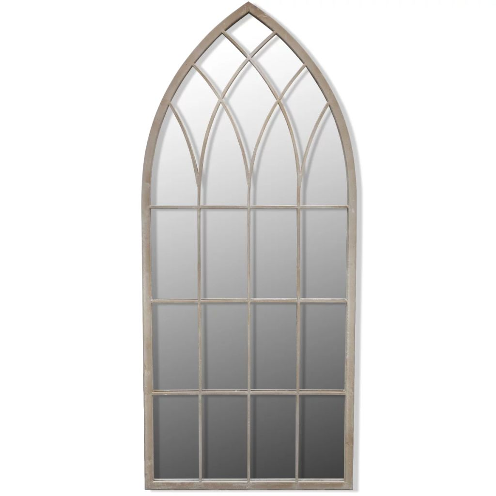 Gothic Arch Garden Mirror 115 x 50 cm for Both Indoor and Outdoor Use 2