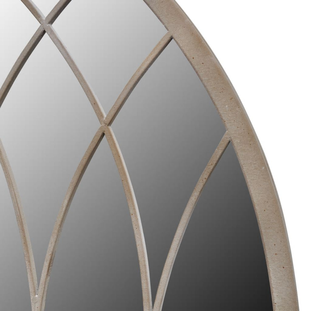 Gothic Arch Garden Mirror 115 x 50 cm for Both Indoor and Outdoor Use 3