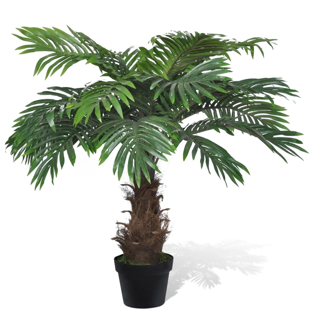Artificial Cycus Palm Tree with Pot 80 cm