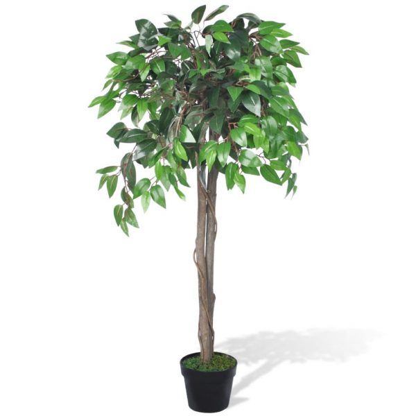 Artificial Plant Ficus Tree with Pot 110 cm 1