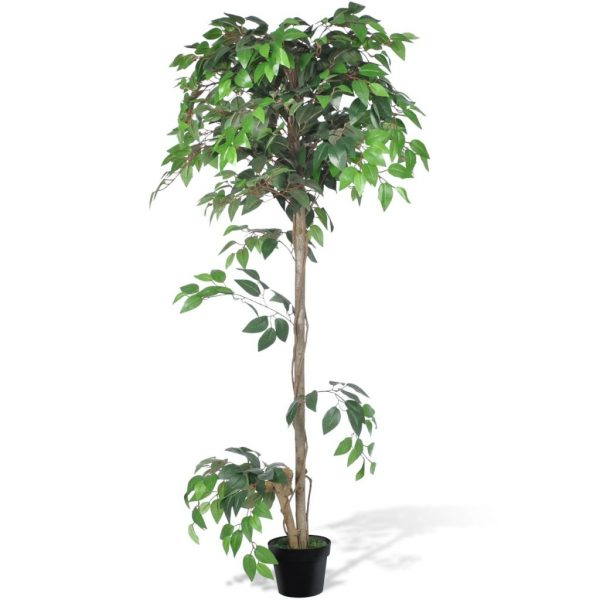 Artificial Plant Ficus Tree with Pot 160 cm 1